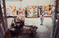 Photographs:Chromogenic, Kevin A. Clarke (American, b. 1953). Willem de Kooning in His Studio, 1981. Dye coupler, 1997. 12-3/4 x 19-1/2 i...