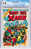 Bronze Age (1970-1979):Superhero, Giant-Size X-Men #1 (Marvel, 1975) CGC FN/VF 7.0 Off-white to whitepages....