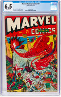 Golden Age (1938-1955):Superhero, Marvel Mystery Comics #47 (Timely, 1943) CGC FN+ 6.5 Off-white pages....