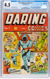 Daring Mystery Comics #7 (Timely, 1941) CGC VG+ 4.5 Cream to off-white pages