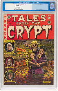 Tales From the Crypt #24 (EC, 1951) CGC VF/NM 9.0 Off-white pages