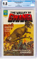 Silver Age (1956-1969):Horror, Movie Classics: Valley of Gwangi - File Copy (Dell, 1969) CGC NM/MT 9.8 Off-white to white pages....