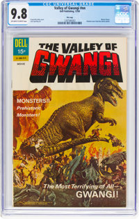 Movie Classics: Valley of Gwangi - File Copy (Dell, 1969) CGC NM/MT 9.8 Off-white to white pages
