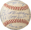 Baseball Collectibles:Balls, 1969 American League All-Star Team Signed Baseball. ...