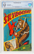 Golden Age (1938-1955):War, Skyrocket #nn (Harry A. Chesler, 1944) CBCS Restored VG 4.0 (Slight Amateur) Off-white to white pages....