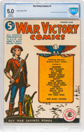 Golden Age (1938-1955):Miscellaneous, War Victory Comics #1 (Harvey, 1942) CBCS VG/FN 5.0 Cream to off-white pages....