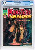 Magazines:Horror, Monsters Unleashed #8 (Marvel, 1974) CGC NM+ 9.6 White pages....