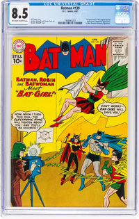 Batman #139 (DC, 1961) CGC VF+ 8.5 Off-white to white pages
