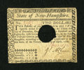 Colonial Notes:New Hampshire, New Hampshire April 29, 1780 $2 Very Fine....