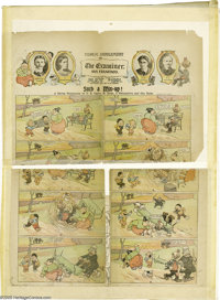 Rudolph Dirks, James Swinnerton, Gus Dirks and F. B. Opper - Comic Supplement of the Examiner San Francisco (The Examine...