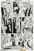 Original Comic Art:Panel Pages, Ross Andru and John Romita Sr. - Spider-Man #151, page 22 OriginalArt (Marvel, 1975). Spider-Man tries to divine the workin...
