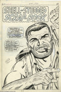 Original Comic Art:Covers, Dick Ayers and John Tartaglione - Sgt. Fury Annual #3 Pin-UpOriginal Art (Marvel, 1967). Face front ya heroes-- it's Sgt. F...