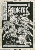 Original Comic Art:Covers, John Buscema - Avengers Annual #2 Cover Original Art (Marvel,1968). When you talk about classic Silver Age Avengers cov...