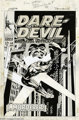 Gene Colan and Jim Steranko - Daredevil #44 Cover Original Art (Marvel, 1968). Beneath Daredevil #44's powerfully symbol...