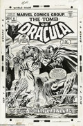 Original Comic Art:Covers, Gene Colan (attributed) and Tom Palmer - Tomb of Dracula #8 CoverOriginal Art (Marvel, 1973). He might be old, he might by ...