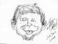 """Original Comic Art:Sketches, Jack Davis - Alfred E. Neuman Sketch Original Art (undated). Jack Davis, one of the most talented of """"the usual gang of idio... (Total: 2 items Item)"""