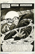 Original Comic Art:Splash Pages, Steve Ditko - The Tomb of Dracula #2 Magazine Splash Page OriginalArt (Marvel, 1979). With style and panache, Steve Ditko t...