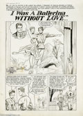 "Original Comic Art:Complete Story, Lee Elias - First Romance Magazine #1 Complete 9-page Story ""I Wasa Ballerina Without Love..."" Original Art (Harvey, 1949).... (9Original Art)"