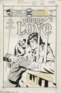 Original Comic Art:Covers, Bob Oksner (attributed) - Young Love #119 Cover Original Art (DC,1976). He had to pay the price for his crime, but would sh...(Total: 2 Original Art Item)
