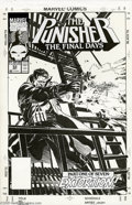 Original Comic Art:Covers, Michael Golden - The Punisher #53 Cover Original Art (Marvel,1991). Frank Castle comes to you in all his crime-busting glor...