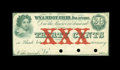 Obsoletes By State:Ohio, Wyandot, OH- Unknown Issuer 30¢ Jan. 12, 1863 Wolka 2882-02. ...