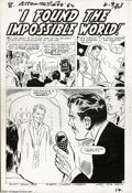 "Original Comic Art:Complete Story, Don Heck - Tales to Astonish #38, Complete 8-page Story, ""I Foundthe Impossible World"" Original Art (Marvel, 1962). A tale ..."