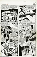 Original Comic Art:Panel Pages, Don Heck and Wally Wood - Avengers #20, page 12 Original Art(Marvel, 1965). Wondrous Wally Wood's inks add a silky smooth f...