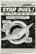 Original Comic Art:Splash Pages, Carmine Infantino and Terry Austin - Star Wars #15 Splash Page 1Original Art (Marvel, 1978). Terry Austin's inks are nothin...
