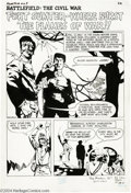 Original Comic Art:Splash Pages, Jeff Jones - The Phantom #25, Splash Page 1 Original Art (King,1967)....