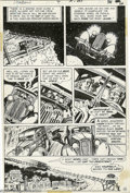 Original Comic Art:Panel Pages, Michael Kaluta - The Shadow #4 page 16 Original Art (DC, 1973). Aharsh, whispered laugh echoes through the night... as an o...