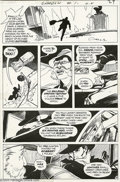 Original Comic Art:Panel Pages, Michael Kaluta - The Shadow #1 page 19 Original Art (DC, 1973). Inthe last gloom-laden hour before dawn, a frantic man scur...