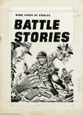 Original Comic Art:Covers, Mel Keefer (attributed) - Battle Stories #11 Cover Original Art(Fawcett, 1953). The ravages of war are brought right up in ...
