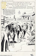 Original Comic Art:Splash Pages, Jack Kirby and Dick Ayers - Rawhide Kid #20, page 26 (Marvel,1961)....