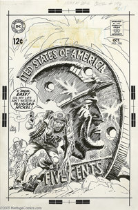 Joe Kubert - Our Army at War #198 Cover Original Art (DC,1968). In Rock -- Easy trusts! The indomitable Army Sergeant le...