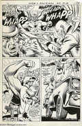 Original Comic Art:Panel Pages, Joe Kubert and Murphy Anderson - The Atom and Hawkman #41, page 5Original Art (DC, 1969). Hawkman's two greatest artists te...