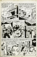 Original Comic Art:Panel Pages, Mort Lawrence - Men's Adventure #27, page 5 Original Art (Marvel,1954). The superhero genre was cross-pollinated with theme...