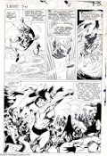 Original Comic Art:Panel Pages, Gene Colan and Vince Colletta - Tales to Astonish #74, page 10Original Art (Marvel, 1965). This all-out action page feature...