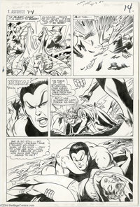 Gene Colan and Vince Coletta - Tales to Astonish #74, page 11 Original Art (Marvel, 1965). The demons of the deep have b...