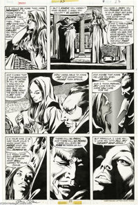 Gene Colan and Tom Palmer - Tomb of Dracula #55, page 23 Original Art (Marvel, 1977). Writer Marv Wolfman had assembled...