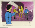"Original Comic Art:Miscellaneous, Filmation Studios - ""Star Trek"" Hand Painted Limited Edition Cel(40/400) (1973). Standing before the Guardian of Forever, A..."