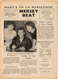 Music Memorabilia:Memorabilia, Mersey Beat First Issue Gene Vincent Cover (July 1961)....