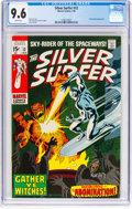 Bronze Age (1970-1979):Superhero, The Silver Surfer #12 (Marvel, 1970) CGC NM+ 9.6 White pages....