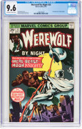 Bronze Age (1970-1979):Horror, Werewolf by Night #33 (Marvel, 1975) CGC NM+ 9.6 Off-white to white pages....