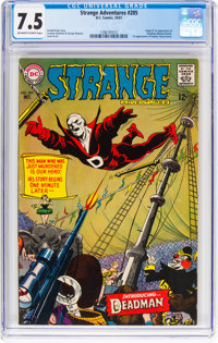 Strange Adventures #205 (DC, 1967) CGC VF- 7.5 Off-white to white pages