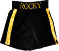 "Boxing Collectibles:Memorabilia, 2006 Sylvester Stallone Screen Worn Trunks from ""Rocky Balboa,"" AKA Rocky VI...."