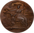 Olympic Collectibles:Autographs, 1896 Athens Summer Olympics Bronze Participation Medal. ...