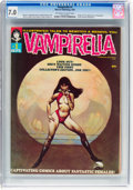 Magazines:Horror, Vampirella #1 (Warren, 1969) CGC FN/VF 7.0 Off-white to white pages....