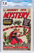 Silver Age (1956-1969):Superhero, Journey Into Mystery #83 (Marvel, 1962) CGC FN/VF 7.0 Whitepages....