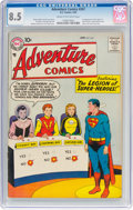 Silver Age (1956-1969):Superhero, Adventure Comics #247 (DC, 1958) CGC VF+ 8.5 Cream to off-white pages....