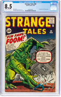 Silver Age (1956-1969):Adventure, Strange Tales #89 (Marvel, 1961) CGC VF+ 8.5 Off-white to white pages....